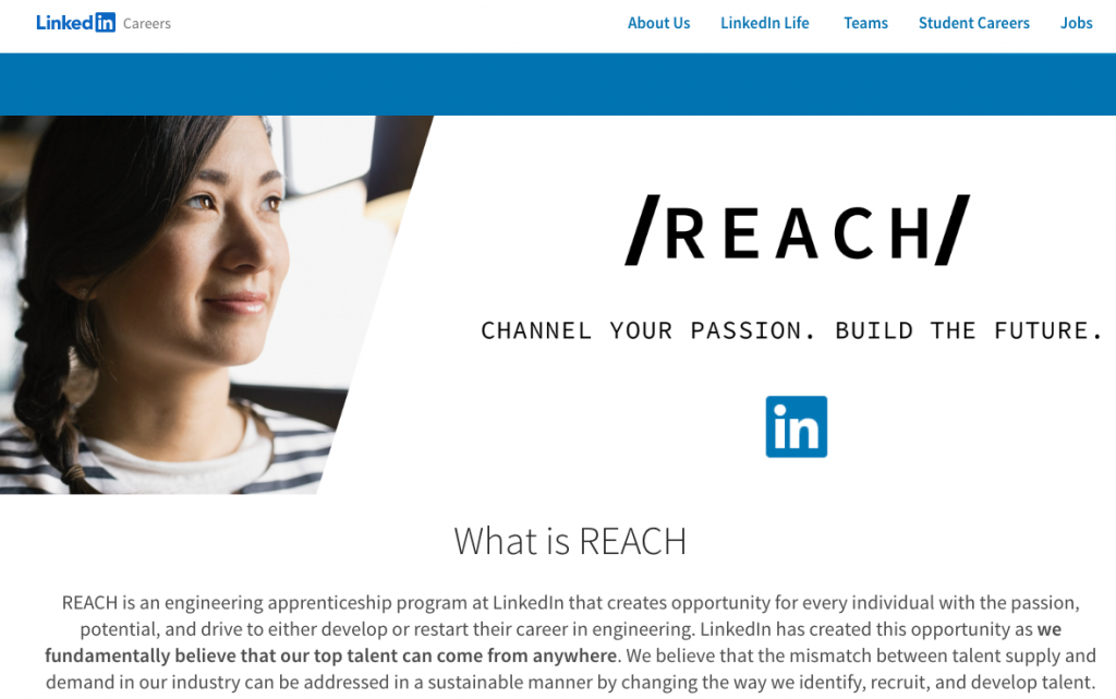 LinkedIn Technology Apprenticeship Program